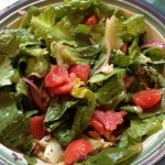 Watermelon Goat Cheese Salad with Citrus Vinaigrette