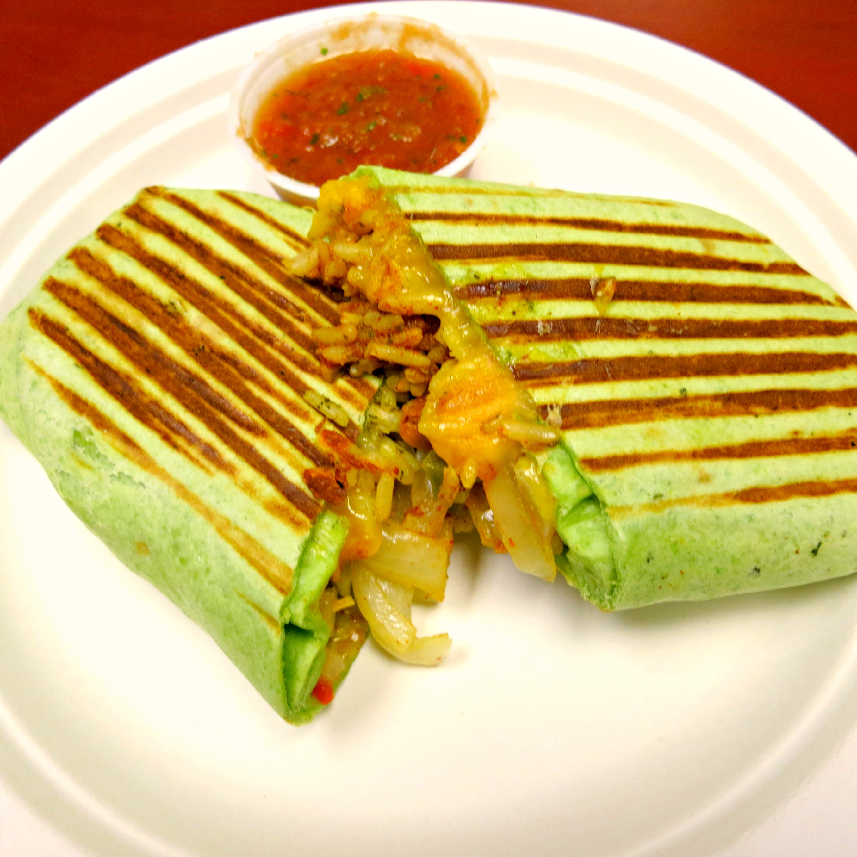 Market Cafe Rice & Bean Burrito