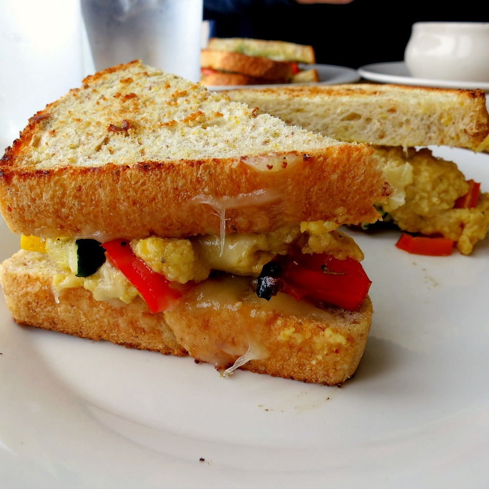 Hummus Vegetable Sandwich Recipe — Dishmaps