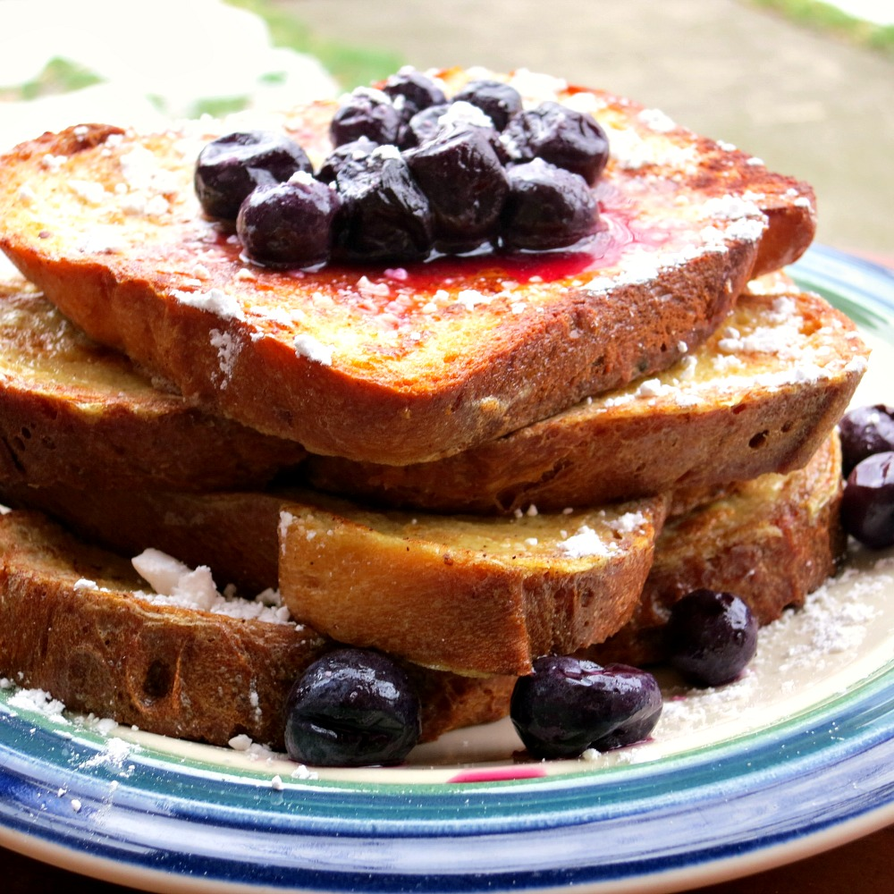 Blueberry French Toast 2