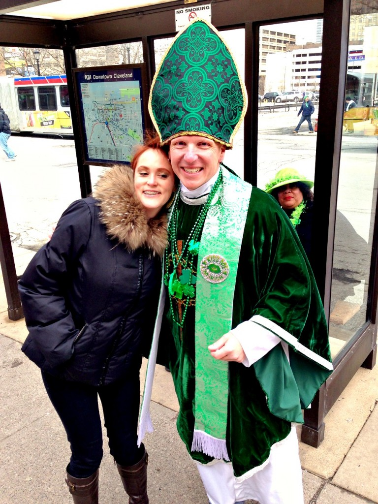 Meg and the Pope