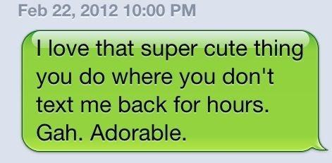 Texting Etiquette