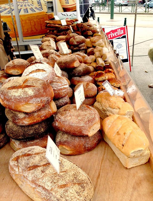 Belgium Farmers Market Bread