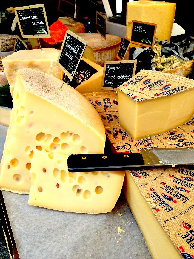 Belgium Farmers Market Cheese