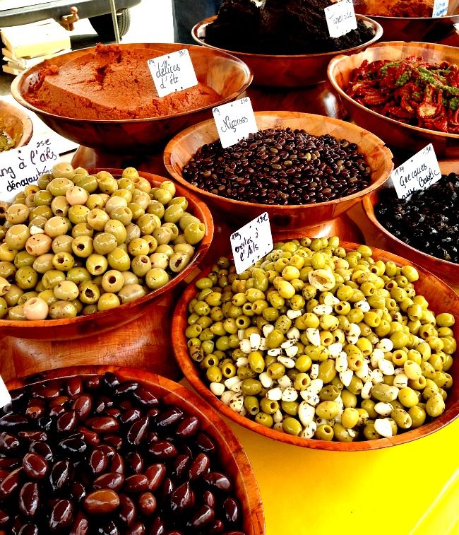 Belgium Farmers Market Olives