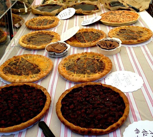 Belgium Farmers Market Pies