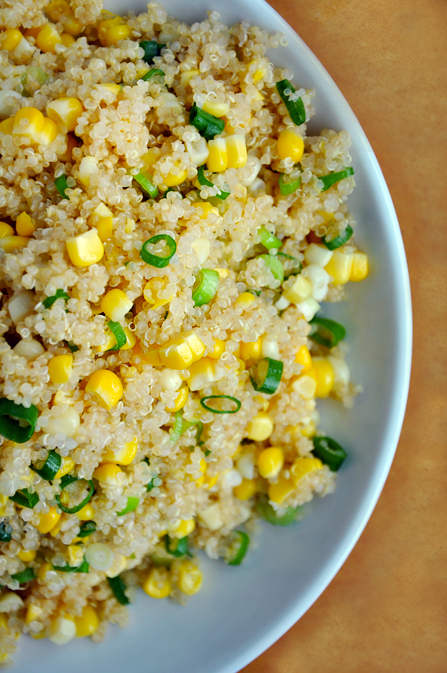 Just A Taste Quinoa and Corn Salad