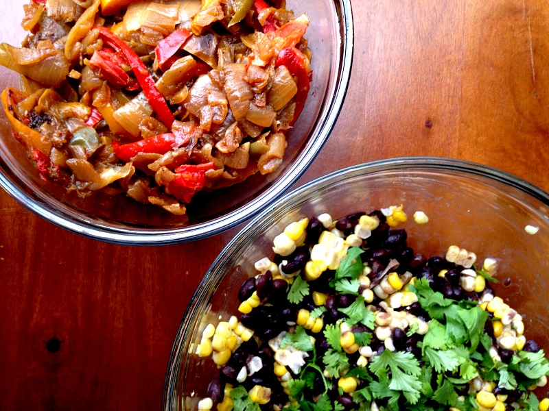 Strange But Good: Southwestern Pizza with Corn & Black Beans - Clean ...