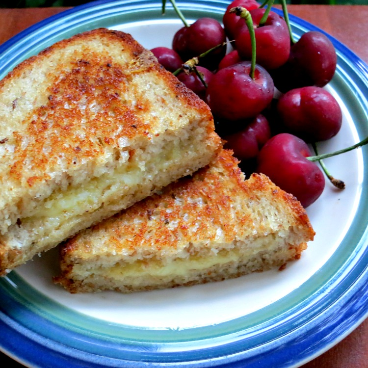 Grilled Cheese and Cherries