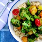 Broccoli Tomato Stir Fry