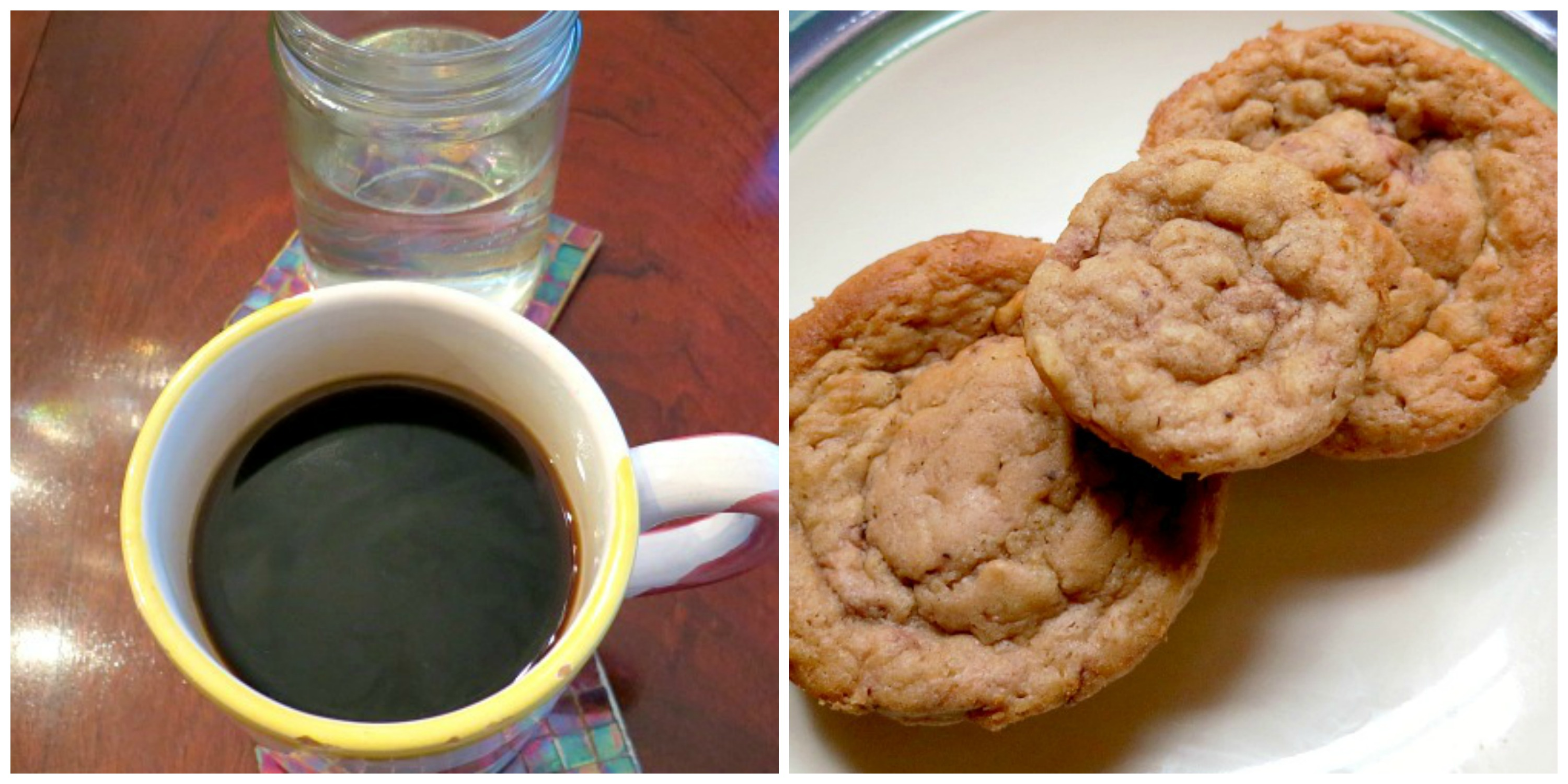 Coffee and Muffins Collage