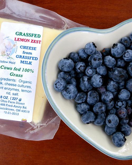 Lemon Zest and Blueberries