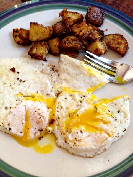 Fried Eggs and Potatoes