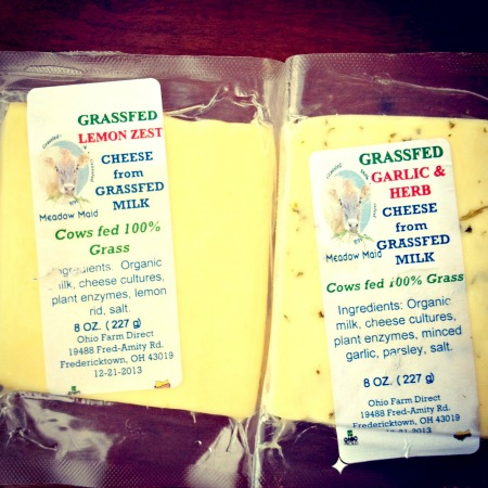 Lemon Zest and Garlic & Herb Cheese B