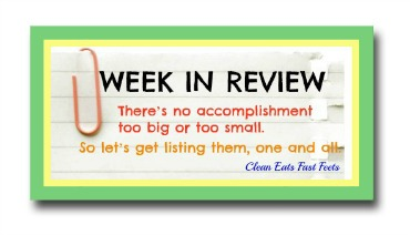 Week In Review Button Side Bar