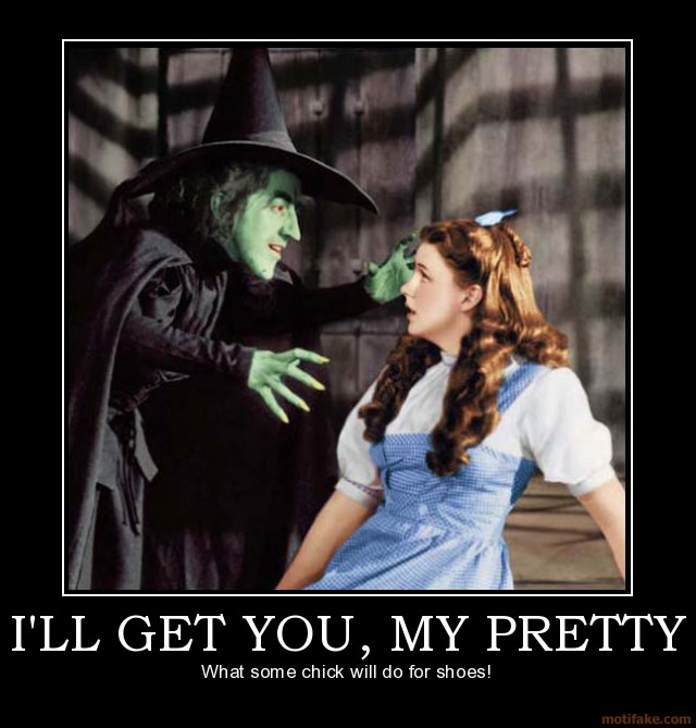 wizard of oz wicked witch quotes my pretty