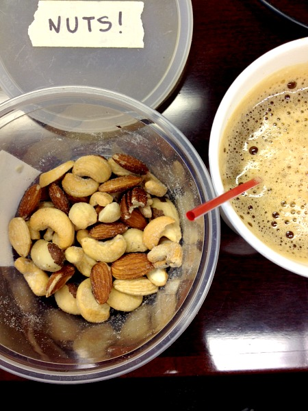 Coffee & Mixed Nuts