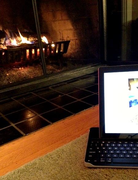 Fireplace & Blog Lovin