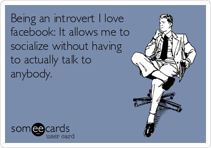 Introverts and Facebook