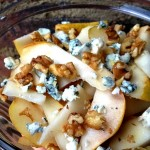 Pear, Walnut & Blue Cheese Salad
