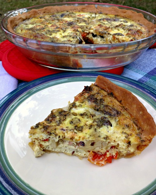 The Greek Quiche