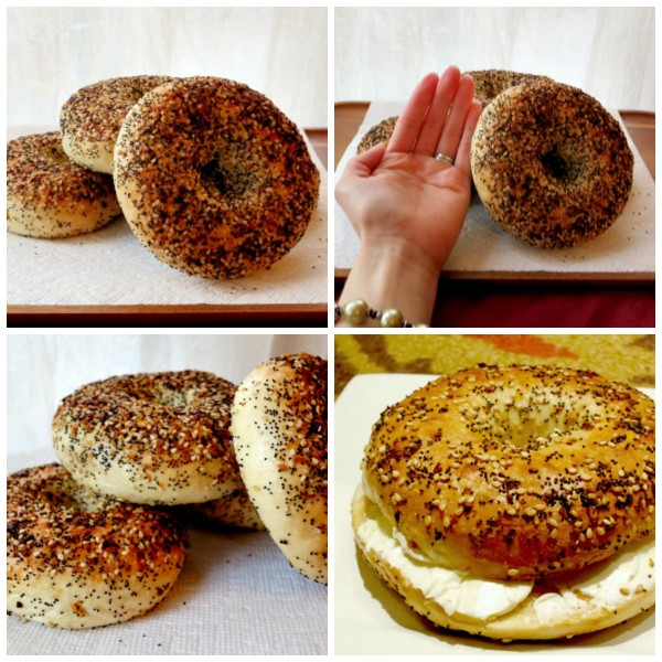 Everything Bagel Collage