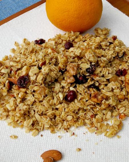 Orange Cranberry Granola C