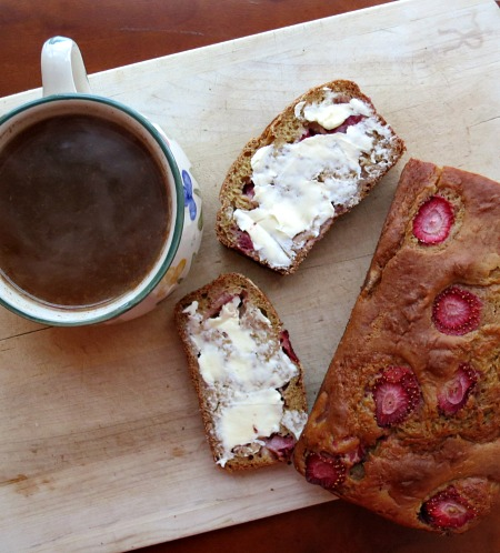 Acorn Squash Strawberry Bread and Apple Cider