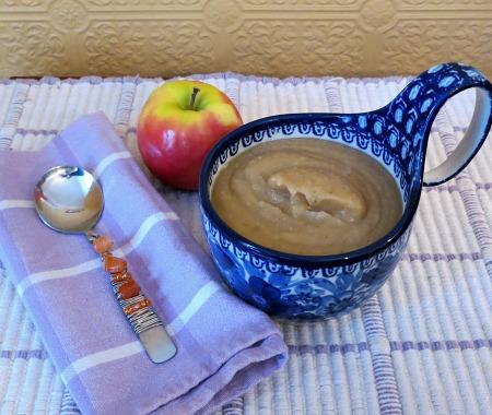 Creamy Apple Potato Soup with Brie