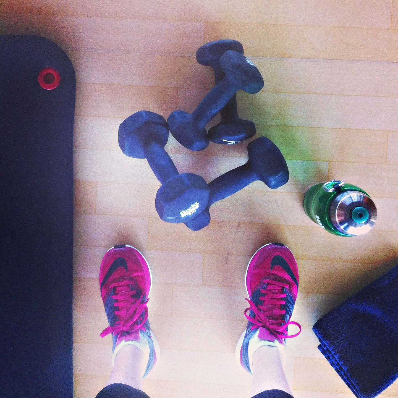 Obligatory Workout Shot