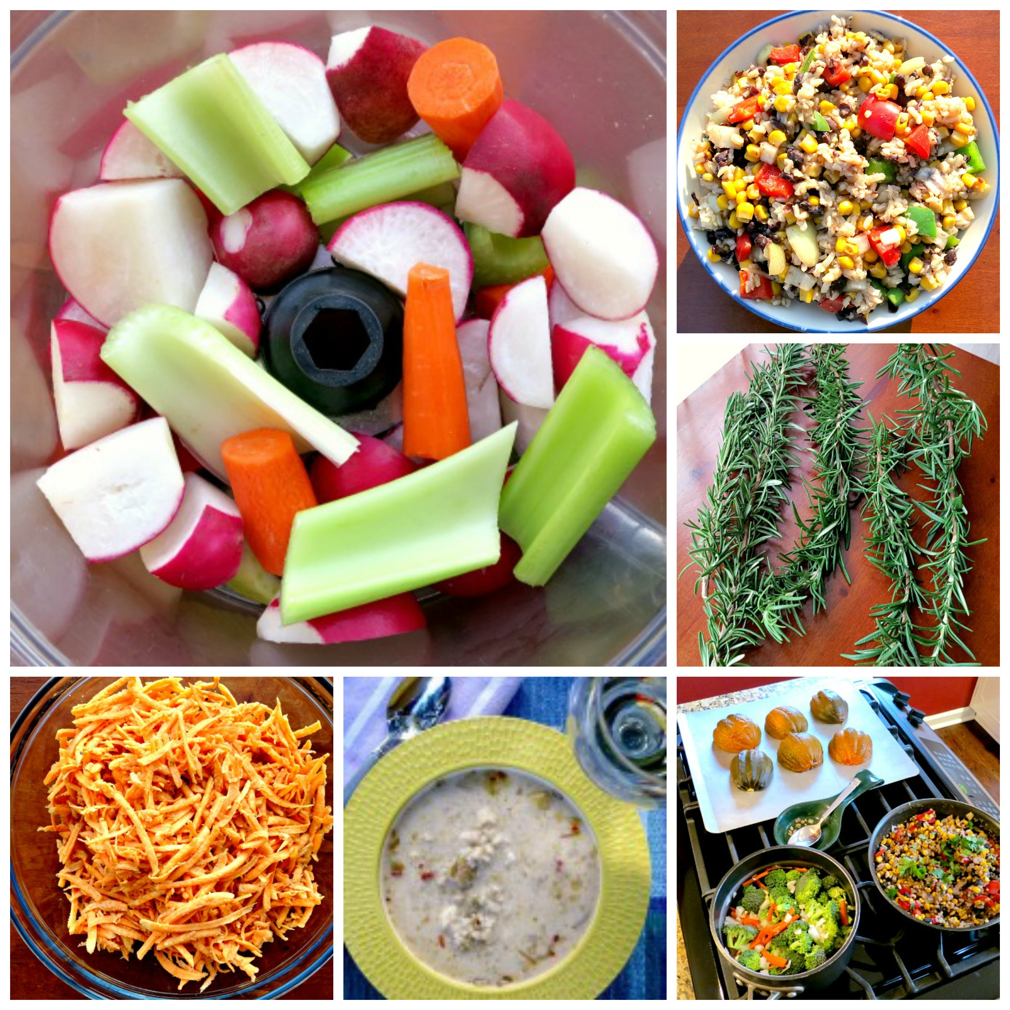 Weekend Cooking Collage B