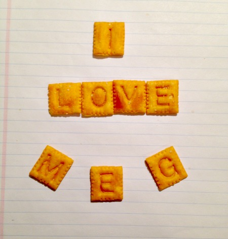 Cheez It Message