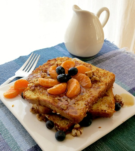 Coconut Orange Blueberry French Toast B