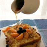 Coconut Orange Blueberry French Toast
