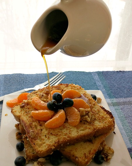 Coconut Orange Blueberry French Toast Syrup