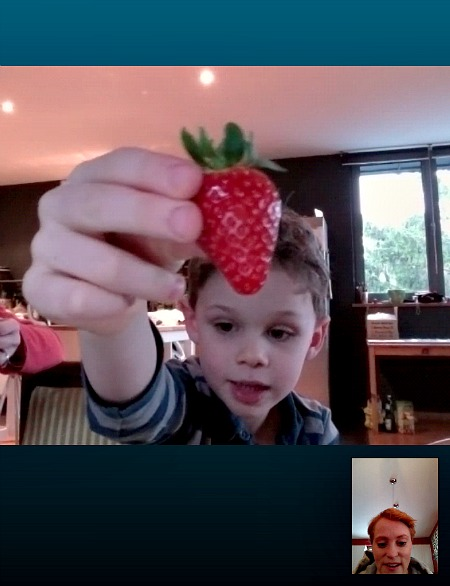 Skyping with Nephew