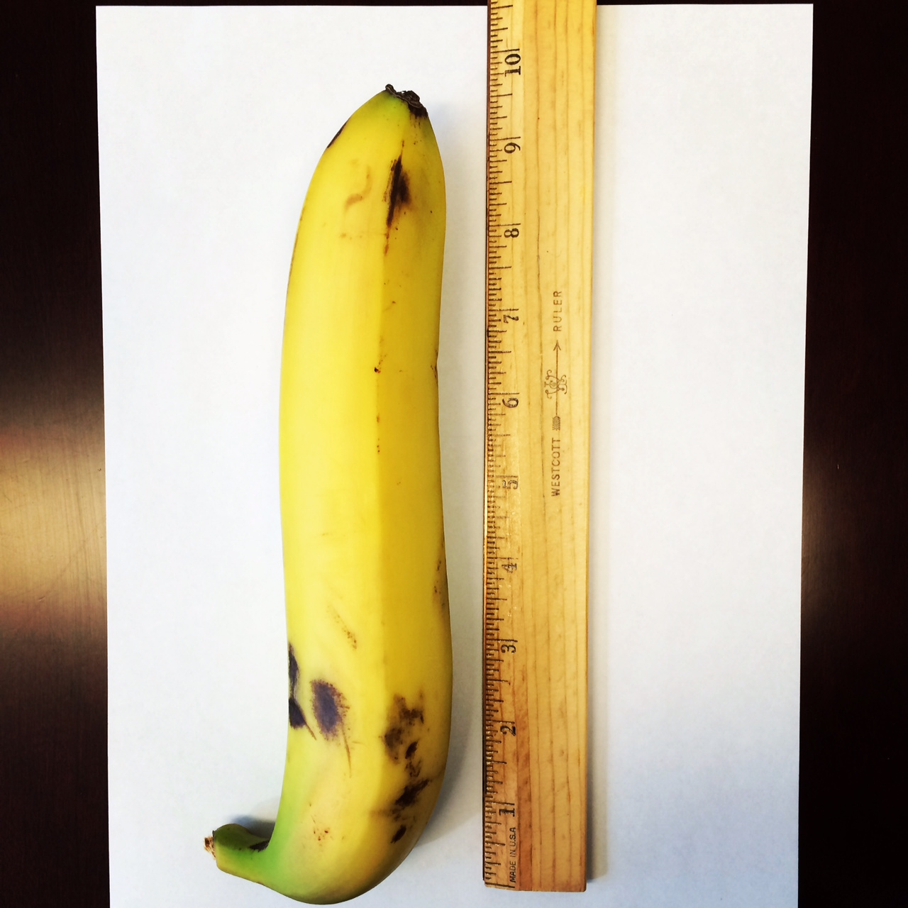 #publicbanana nine plus inches