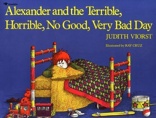 I think of this book when I have a bad day.
