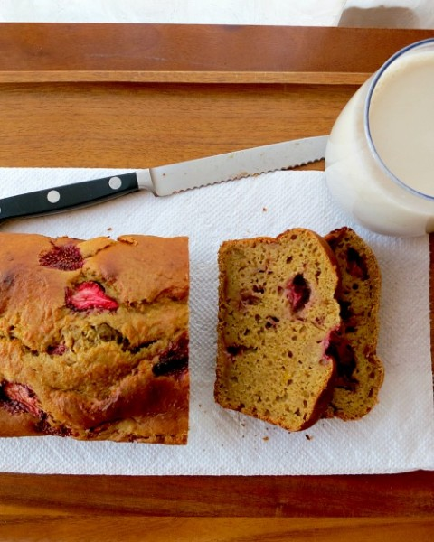 Acorn Squash Strawberry Bread B