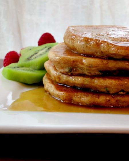 Zucchini Bread Pancakes 2