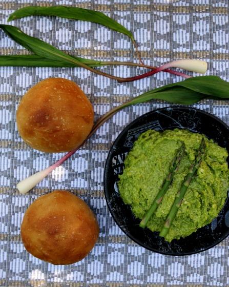 Asparagus Ramp Pesto