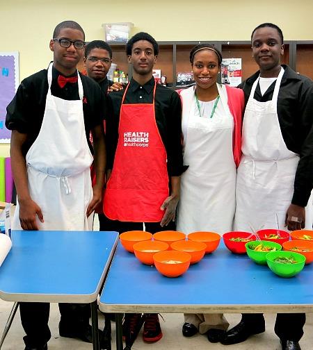 Ginn Academy Cooking Class