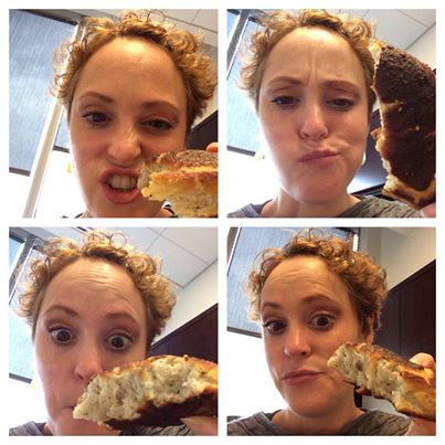 Meg and the Pretzel Collage