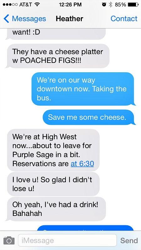 Blend 2014 Retreat Broccoli Text Convo