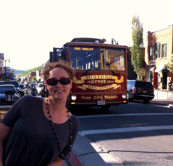 Meg & The Trolley in Park City, Utah