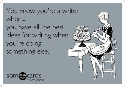Writing while Multitasking