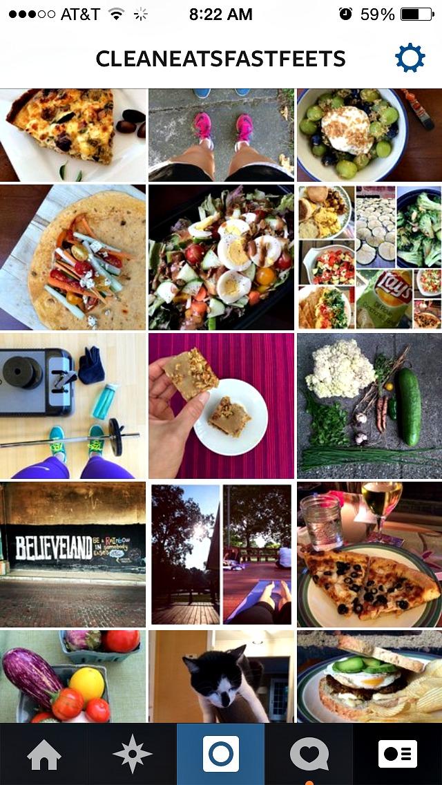 Clean Eats Fast Feets Instagram