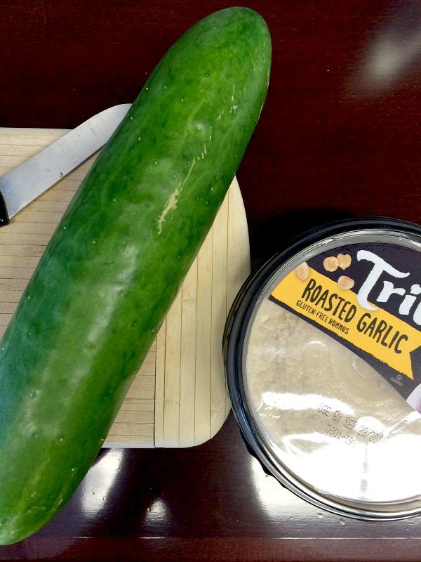 Cucumber & Hummus