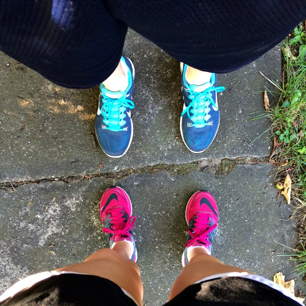 Running Feet Hubby and Meg