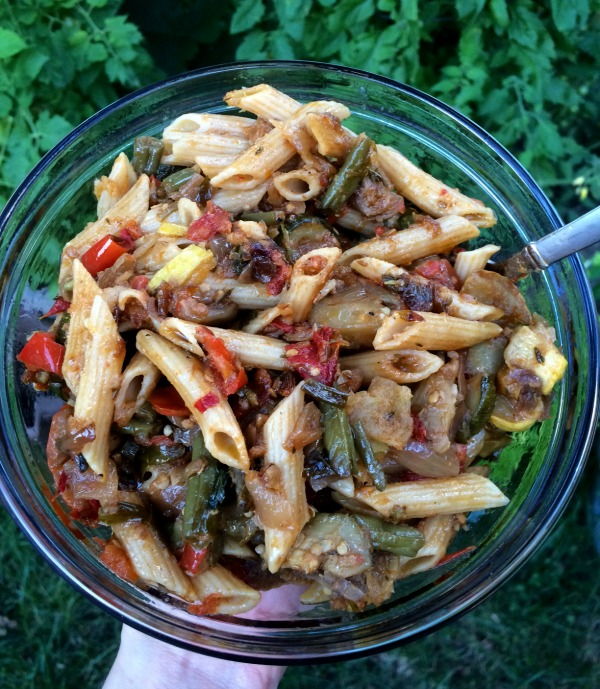 Whole Wheat Pasta with Ratatouille